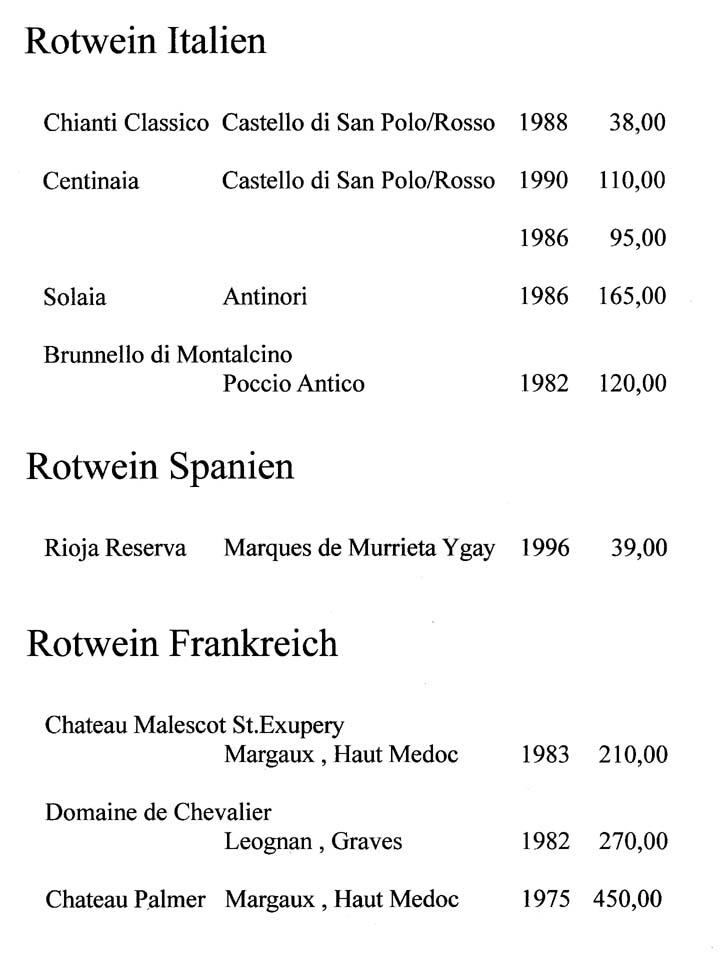 Rotweine aus Italien, Frankreich und Spanien